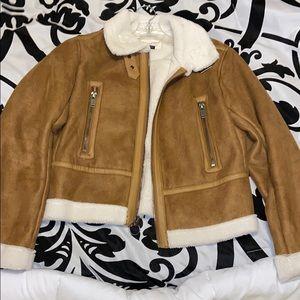 Target Furry bomber jacket